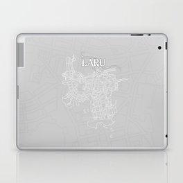 LARU Grey Laptop & iPad Skin