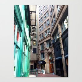 Vintage Alley Canvas Print