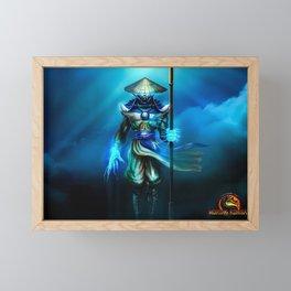 MK Video Game Framed Mini Art Print