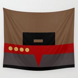 Captain Sisko - Minimalist Star Trek DS9 Deep Space Nine - Trektangle - Trektangles startrek Wall Tapestry