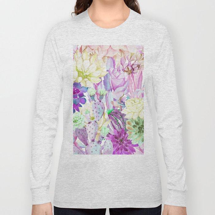 Lilac garden Long Sleeve T-shirt