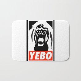 YEBO WARRIOR Bath Mat