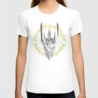 middle earth T-shirts featuring The Dark Lord of middle Earth by ddjvigo