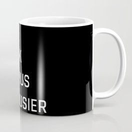 Modern Architecture (Black) Coffee Mug
