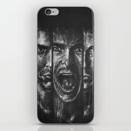 Christian bale expressions iPhone Skin
