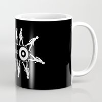 evolution Mugs featuring Evolution by Tony Vazquez