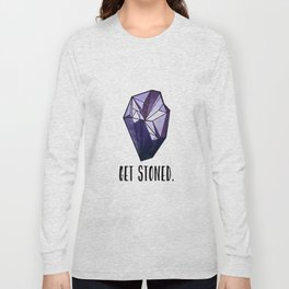 Get Stoned - Amethyst Long Sleeve T-shirt