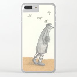 lies is Slavery Clear iPhone Case