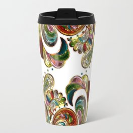 Liquid Bling Paisley Tattoo Travel Mug