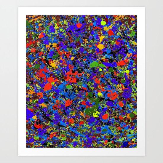Abstract #738 Art Print