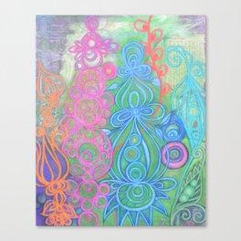 la jungla Canvas Print
