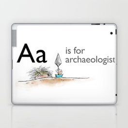 A is for Archaeology Laptop & iPad Skin