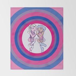 Love is Love - Bi Throw Blanket