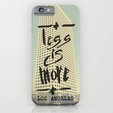 Less is More - Los Angeles -  Slim Case iPhone 6s