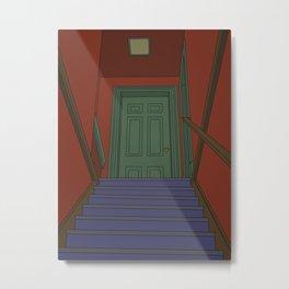 Stair Thee Well Metal Print