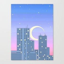 The City Never Sleeps Canvas Print
