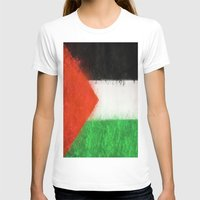 palestine T-shirts featuring Palestine by 2b2dornot2b