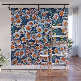 chrydsanthemum Wall Mural
