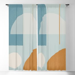 Geometric Abstract 103 Blackout Curtain