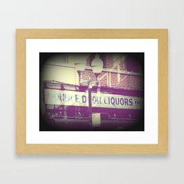 All I remember from last night Framed Art Print