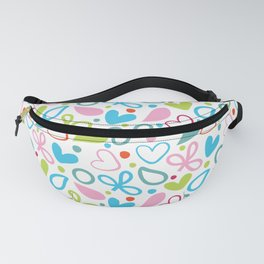 Colorful Lovely Pattern XII Fanny Pack