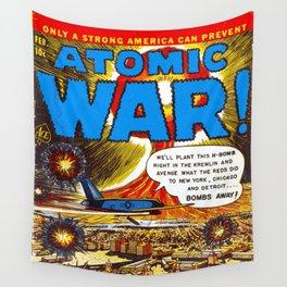 Atomic War! #3 Wall Tapestry