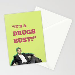 It's A Drugs Bust! Stationery Cards