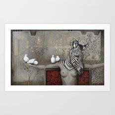 Le sacrifice de Gaia Art Print