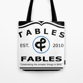 "Tables and Fables - ""Massachusetts"" Tote Bag"