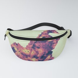 Cameroon Map with Flag Fanny Pack