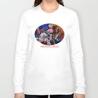 political Long Sleeve T-shirts featuring Political Circus by eVol i