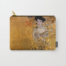 Adele Bloch-Bauer I by Gustav Klimt Carry-All Pouch