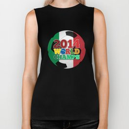 2014 World Champs Ball - Italy Biker Tank