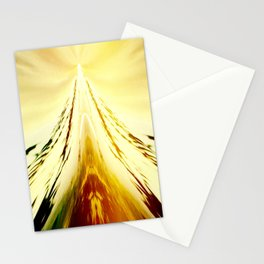 Volcanic Ice Mountain Stationery Cards
