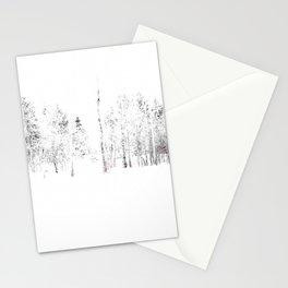 Trees in Winter Vignette | Prospect Landscape | Nadia Bonello | Canada Stationery Cards