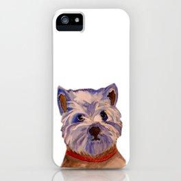 West highland terrier Westie dog love iPhone Case