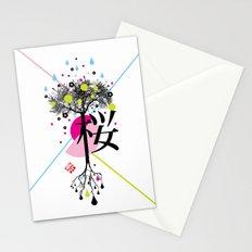 sakura ki Stationery Cards