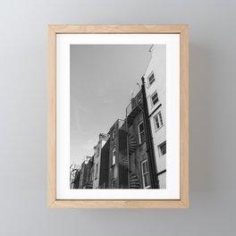 Going up  Framed Mini Art Print