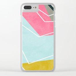 Fill & Stroke Clear iPhone Case