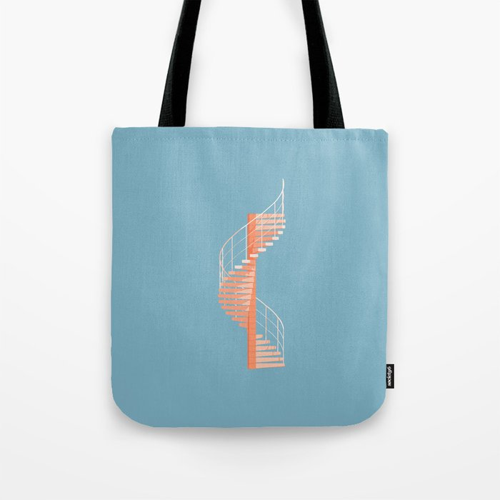 Helix Stair Tote Bag