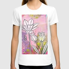 Pod and Daffodil Garden T-shirt