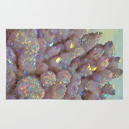 Angel Aura Spirit Quartz crystal Rug