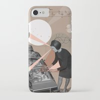 superheroes iPhone & iPod Cases featuring Superheroes SF by Natalie Nicklin