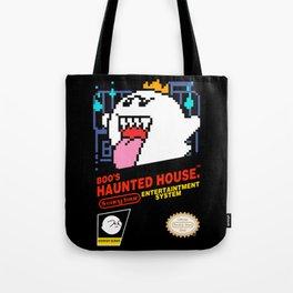 Super Mario Boo NES box art Tote Bag