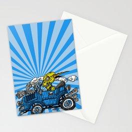 skull car Stationery Cards