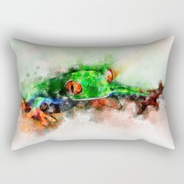 Frog Rectangular Pillow