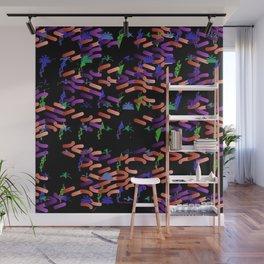Glowworms Wall Mural
