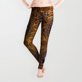 The Six Wives of Henry VIII as Foxes Leggings