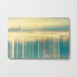 City Lights (Morning)  Metal Print