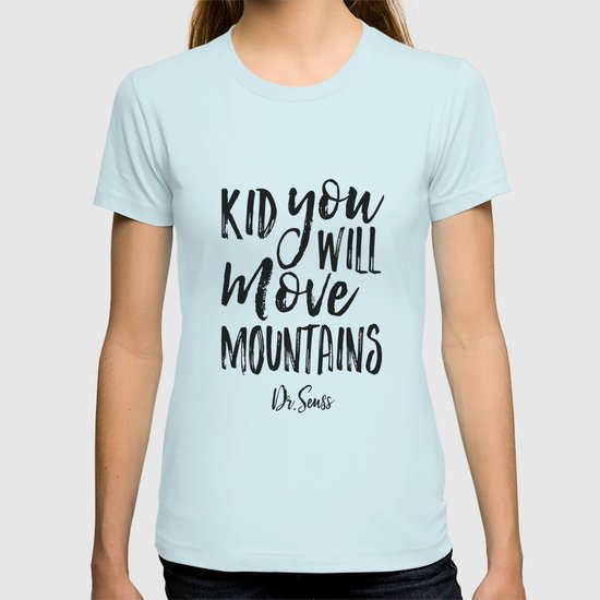 Kid Youll Move Mountains Birthdaykids Room Decorkids Gift